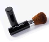 Individual sintético Brown Negro de pelo virola Kabuki cepillo cosmética