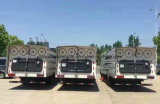 Dongfeng 6 바퀴 진공 도로 세척 트럭 5m3 스위퍼