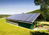 격자 태양계 5kw 변환장치 3000W 태양 전지판 14400wh AGM 건전지 떨어져