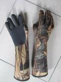 De Handschoenen van het neopreen voor Visserij en de Jacht (hx-G0068)