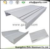 Dissipadores de calor de prata do perfil do alumínio de carcaça do carro da cor