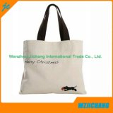Sacchetto poco costoso durevole su ordinazione della tela di canapa del sacchetto di mano