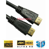Maschio del cavo 1.4V di HDMI al cavo maschio tv via cavo