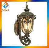 Lumière en bronze économiseuse d'énergie de jardin d'ombre de lampe de support de mur de couleur