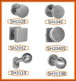 Bouton de poignée de porte élégante et populaire en acier inoxydable moderne