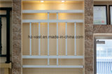 Barandilla de acero galvanizada decorativa de alta calidad 38 del balcón de la aleación de Haohan Alluminum