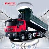Saic-Iveco-Hongyan Genlyon 8X4 340HP Camion à benne basculante Dumper lourd
