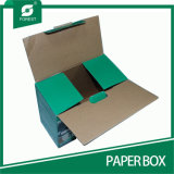 Industria Electrónica Herramienta de papel corrugado caja de empaquetado