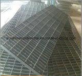 Caliente sumergido galvanizado reja serrada o llana del acero de la plataforma