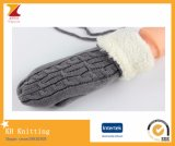2016 Mittens coloridos do Knit robusto do inverno