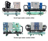 Refrigerador de agua refrigerado por agua del sistema de la refrigeración por agua