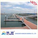 De Jachthaven WPC Decking van de goede Kwaliteit van China