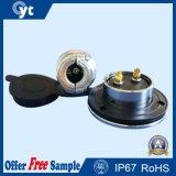 Rundschreiben2 Pin 24AMP imprägniern Metallverbinder