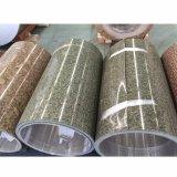 Hölzerne beschichteter Aluminiumring des Korn-PVDF Marmorierungfarbe