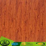 Papel decorativo impreso del grano de madera para el suelo