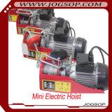 PA печатает на машинке для миниого электрического подъема веревочки провода, миниого крана, миниой электрической лебедки