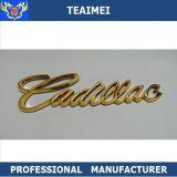 Emblemas plásticos del coche de la pieza de automóvil de la insignia del coche del ABS del oro y de la plata