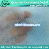 Telas no tejidas suaves de SSS para los pañales del bebé