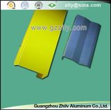 Techo vertical falso de aluminio azul de la pantalla del estilo para la decoración de interior o al aire libre