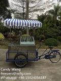 Bicicleta italiana dos carros de Gelato/gelado/de bicicleta/Gelatin de Gelato congeladores do triciclo (CE aprovado)