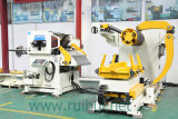 ملفّ صفح مغذّ آليّة مع مقوّم انسياب لأنّ يقوّم فولاذ مادّة