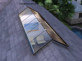 Serie de madera revestida de aluminio de la ventana de la azotea de Ventillator del tragaluz