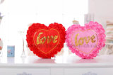 Luminous Colorful LED Love Heart Glowing Plush Pillow Stuffed Toys