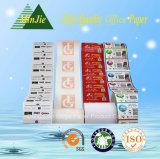Venta al por mayor de la buena calidad muy barato 55gsm Impreso papel térmico Hasta rollo