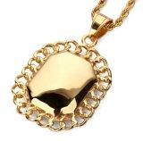 De nieuwe Halsband van de Tegenhanger van de Juwelen van Hip Hop van de Aankomst 316L Robijnrode