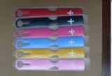 Etiqueta conocida de cuero plástica de encargo al por mayor del equipaje