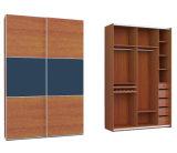 De moderne Freestanding Glijdende Garderobe van het Leer
