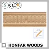 Decoratie die het Houten Afgietsel van de Kroon voor Huis/Hotel snijden