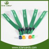 Wristbands зеленого цвета тканья рождественской вечеринки ткани для случаев