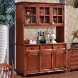 Американский шкаф вина шкафа типа с ящиком (GSP19-006)