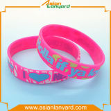 Kundenspezifischer Form-GummisilikonWristband