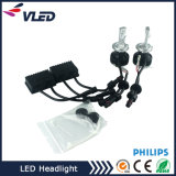自動車部品のアクセサリ最新の車800W 8000lm Zes G9 LEDのヘッドライトH7