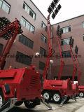 SMSコミュニケーション二重車軸流動Bunding DC LED軽いタワー