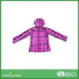 Куртка Hoody Softshell высокого качества женщины Windproof удобная