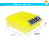 Il pollame differente automatico trasparente Eggs l'incubatrice che cova la macchina