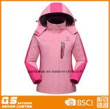 Женщины делают Windproof куртку водостотьким лыжи высокого качества