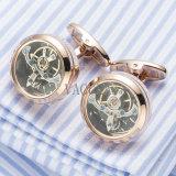 Cufflinks van Tourbillon van Hotsale de Gift Gemelos 509 van de Advocaat van de Manchetknopen van de Beweging van het Horloge