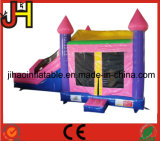 販売のためのHouse Slide跳ね上がりの城のコンボの膨脹可能な王女