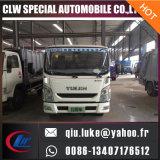 Yuejin 5cbm 8cbm 10cbm Camión compactador de basura