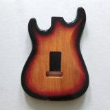 Таможня тело гитары старта 2 частей Mahogany Sunburst