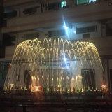 Нержавеющая сталь горячего сбывания напольная танцуя музыкальный фонтан