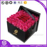 Caixa de empacotamento gama alta da flor do presente do papel de impressão de Cmyk