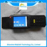 Coletor de dados Handheld com o leitor da freqüência ultraelevada RFID, varredor do código de barras