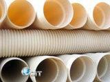 Riga di plastica espulsore della macchina del tubo del PVC del carceriere 16-63mm