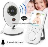 2.4 des Zoll LCD-Bildschirm-Vb605 drahtloser Säuglingsgespräch Nightvision Temperatur-Bildschirmanzeige-Kindermädchen-Baby-Monitor babysitter-Digital-der Videokamera-2way