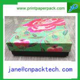 관례에 의하여 인쇄되는 접히는 보석함 포장 상자 서류상 선물 상자